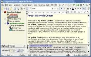 My Notes Center Screenshot