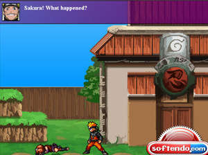 Arcade Games - Screenshot for Naruto Game