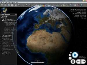 NASA World Wind Screenshot