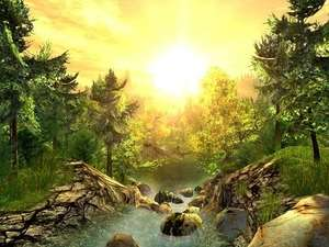 Nature 3D Screensaver Screenshot