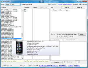 Mobile Phone Tools - Screenshot for NaviFirm Plus
