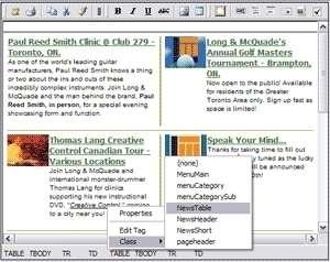 nBit WYSIWYG HTML Editor Component Screenshot