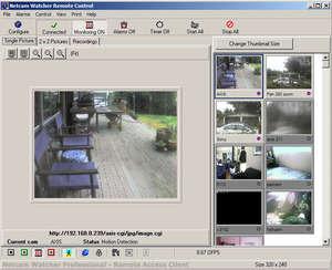 Netcam Watcher Professional Screenshot