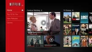 Video Players - Screenshot for Netflix for Windows 8