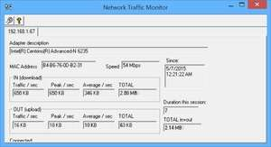 NetTrafficMon Screenshot