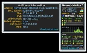 Network Programs - Screenshot for Network Monitor II