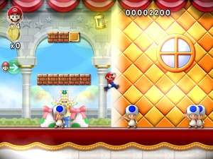 Arcade Games - Screenshot for New Super Mario Forever 2012