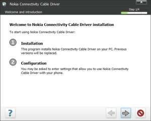Nokia Connectivity USB Driver Screenshot