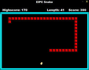 Nokia Snake Screenshot