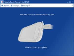 Mobile Phone Tools - Screenshot for Nokia Software Recovery Tool