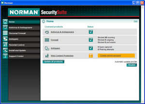 Norman Virus Control Screenshot