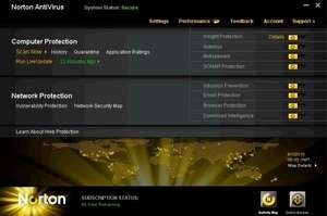 Norton AntiVirus Screenshot