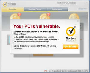 Norton PC Checkup Screenshot