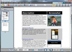 PDF Tools - Screenshot for Nuance PDF Reader