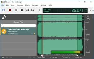 ocenaudio Screenshot