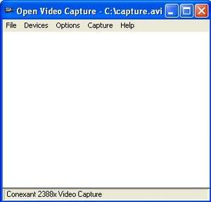 Open Video Capture Screenshot