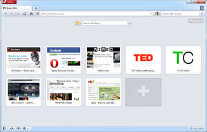 Internet Browsers - Screenshot for Opera Browser