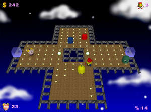 Arcade Games - Screenshot for PacMan Adventures 3D