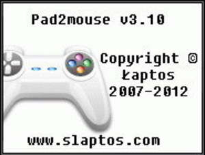 Pad2mouse Screenshot