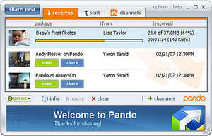 File Search - Screenshot for Pando
