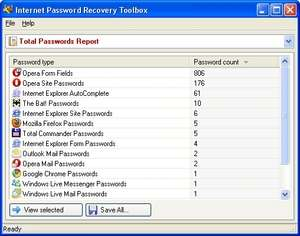 Password Recovery Toolbox Screenshot