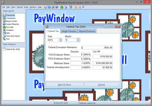PayWindow Payroll System Screenshot