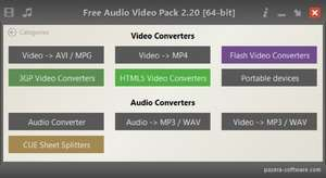 Pazera Video Converters Suite Screenshot
