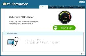 PC Performer Screenshot