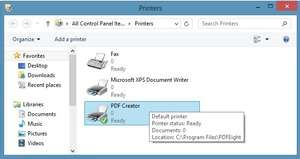 PDF Creator for Windows Screenshot