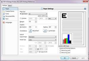 PDF Tools - Screenshot for PDF-XChange Lite