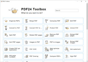 PDF Tools - Screenshot for PDF24 PDF Creator