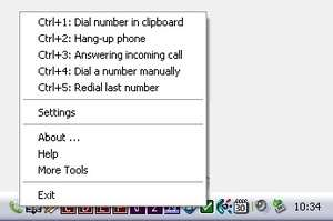 Phone Dial by PC Screenshot