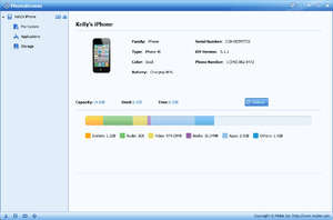 iPhone Tools - Screenshot for PhoneBrowse
