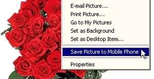 Pix2Fone Browser Extension Screenshot