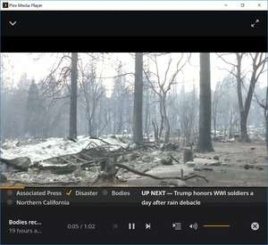 Plex Media Player Screenshot
