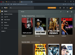 Media Servers - Screenshot for Plex Media Server