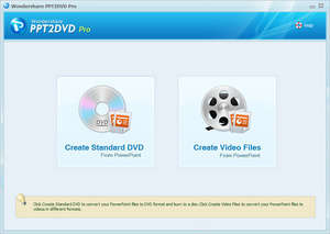 PowerPoint DVD Burner Screenshot