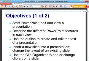 PowerPoint Viewer Screenshot