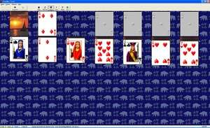 Pretty Good Solitaire Screenshot