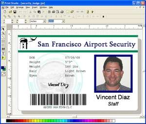 Print Studio Photo ID Card Software Screenshot