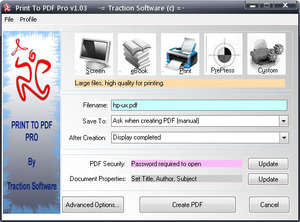 Print To PDF Pro Screenshot