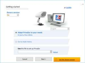 PrivaZer Portable Screenshot