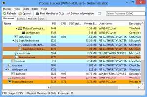 Process and Task Managers - Screenshot for Process Hacker