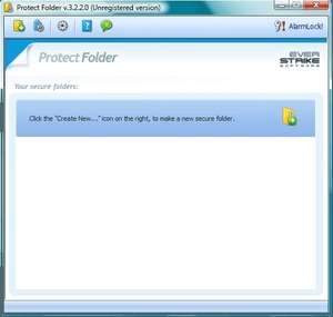 Protect Folder Screenshot
