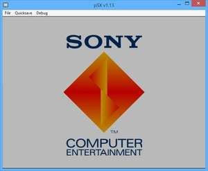 pSX Emulator Screenshot