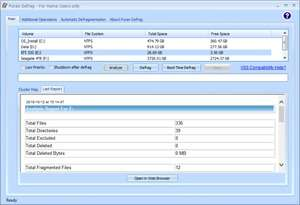 Hard Disk Defragmenters - Screenshot for Puran Defrag