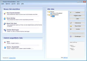 Backup Utilities - Screenshot for PureSync