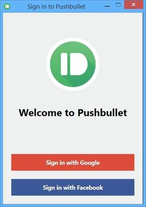 Pushbullet Screenshot