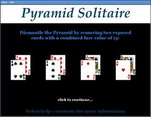 Card and Casino Games - Screenshot for Pyramid Solitaire