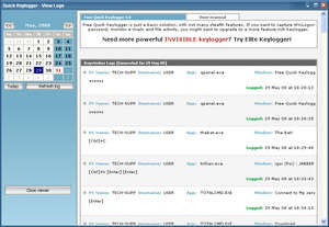 Quick Free Keylogger Screenshot